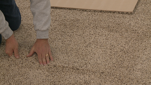 basement carpeting installation