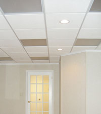 Basement Ceiling Tiles for a project we worked on in Sicklerville, New Jersey
