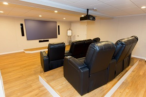 Basement theater installed in Swedesboro