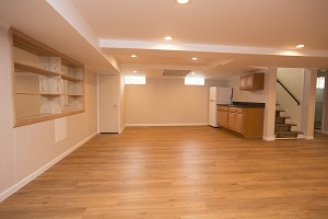 Basement finishing flooring in Pedricktown & nearby